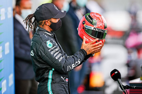 Lewis Hamilton equals Michael Schumacher on 91 Grand Prix wins