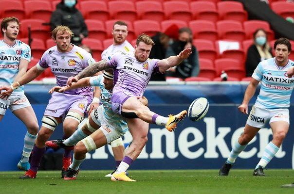 Stuart Hogg Exeter Chiefs Champions Cup Final 2020