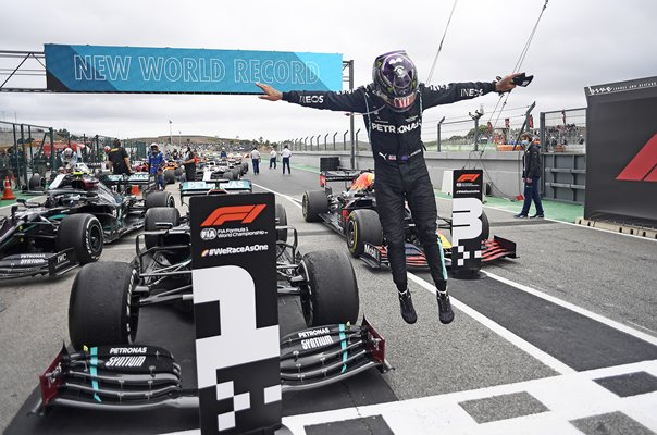 Lewis Hamilton Great Britain World Record 92nd Grand Prix win 2020