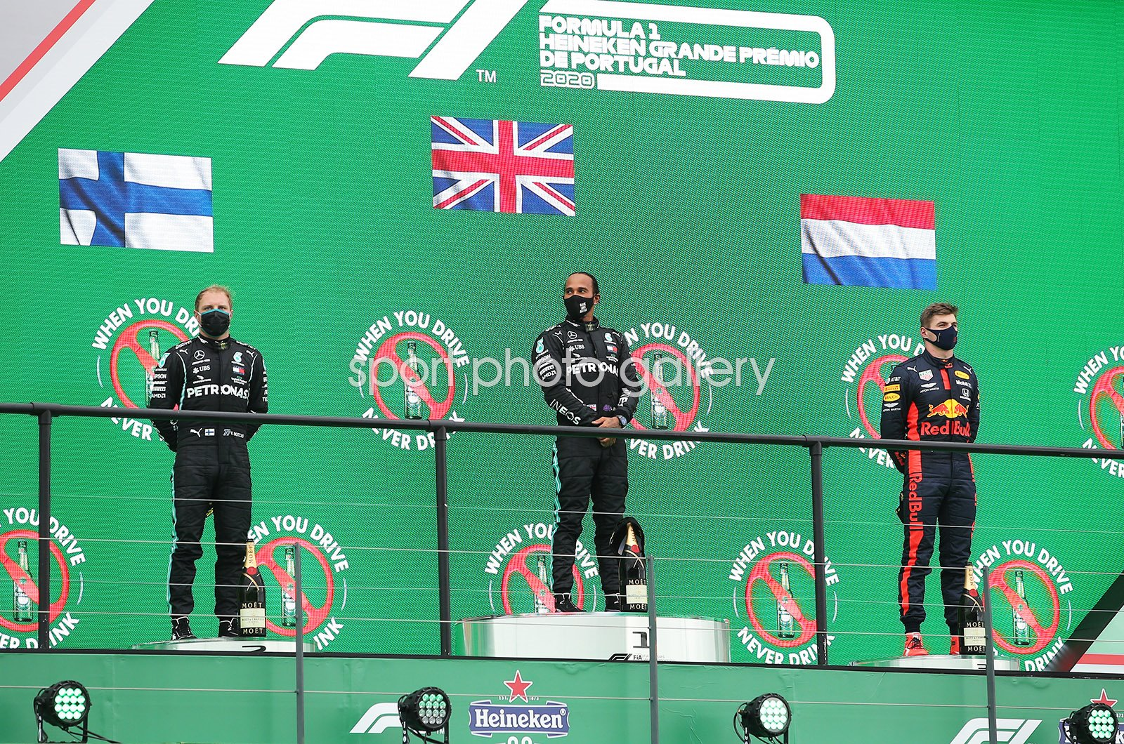 Lewis Hamilton Great Britain & Mercedes Record 92nd Portugal 2020