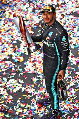 Lewis Hamilton Great Britain wins 7th World F1 Title Istanbul 2020