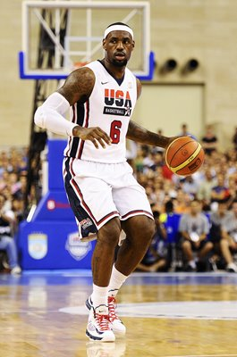 LeBron James USA Basketball Legend Barcelona 2012