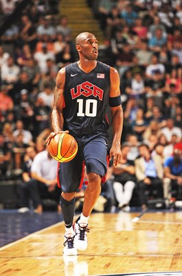 Kobe Bryant USA v Great Britain Basketball Exhibition Game 2012