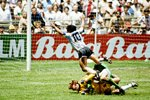 Diego Maradona Argentina v West Germany World Cup Final 1986 Prints