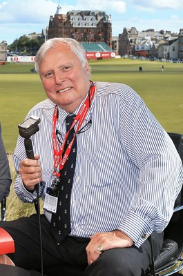 Peter Alliss BBC Voice of Golf St Andrews 2013