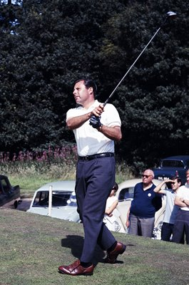 Peter Alliss England Piccadilly World Match Play Golf Wentworth 1965