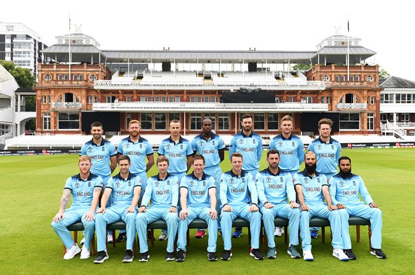 England World Cup Winning Squad Lord's 2019