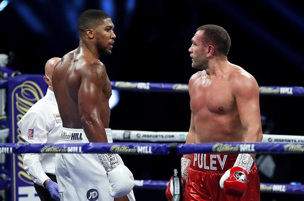 Anthony Joshua v Kubrat Pulev World Heavyweight Boxing Fight 2020