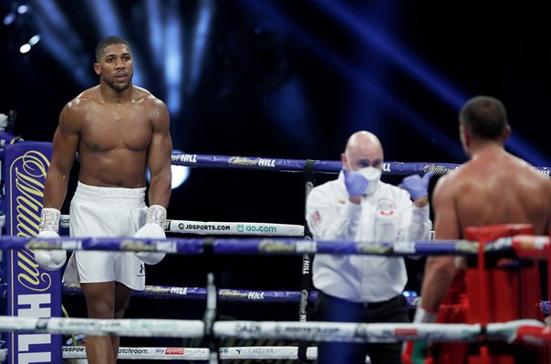 Anthony Joshua advances v Kubrat Pulev World Heavyweight Boxing 2020