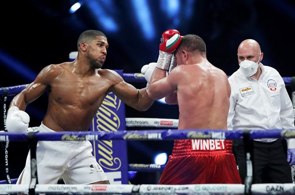 Anthony Joshua v Kubrat Pulev Wembley Arena London 2020