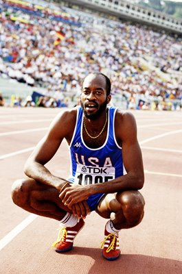 Ed Moses USA 400m Hurdles Legend World Athletics Rome 1987
