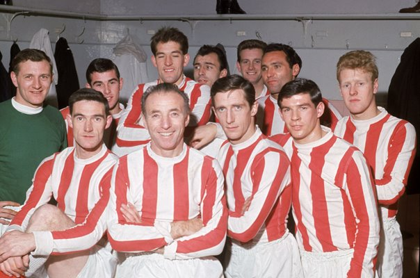 Stanley Matthews Stoke City and England Legend aged 50 1965