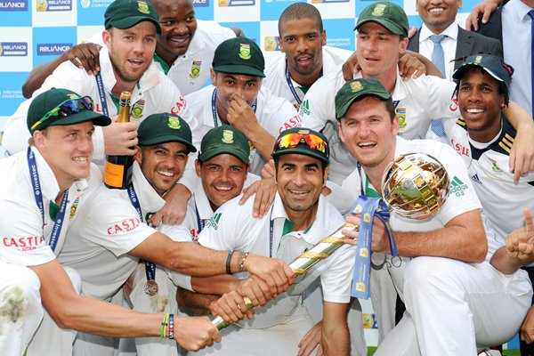 South Africa become World's #1 Test Team 2012