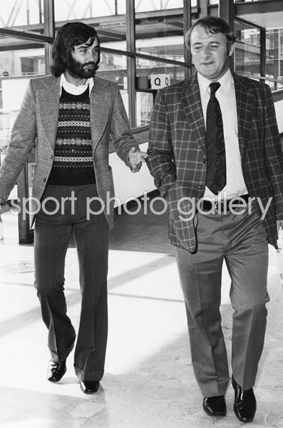 George Best & Tommy Docherty Manchester United