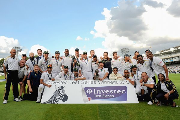 South Africa World #1 Test Team Lord's 2012