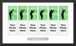 Tiger Woods Golf Swing Comparison Collage  Prints