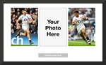 England Rugby Flyers Collage Prints