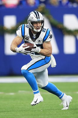 Christian McCaffrey Panthers v Colts Lucas Oil Stadium 2019