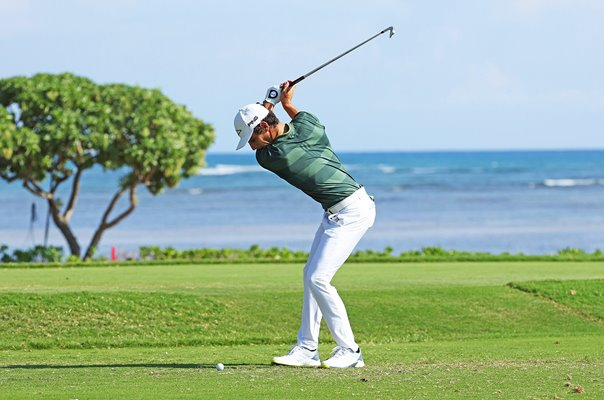 Joaquin Niemann Chile Sony Open In Hawaii Final Round 2021