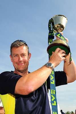 Ashley Giles Warwickshire County Champions 2012