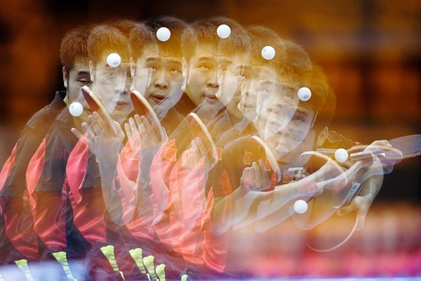 Table Tennis: Lin Ma of China