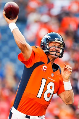 Peyton Manning Denver Broncos v Pittsburgh Steelers 2014