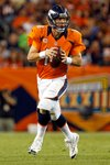 Peyton Manning Quarterback Denver Broncos 2014 Playoffs Prints