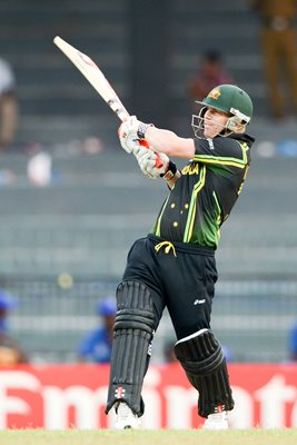 David Warner Australia World T20 2012