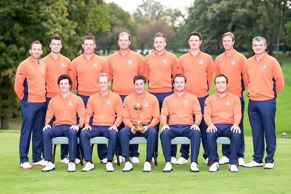 European Ryder Cup Team Medinah 2012