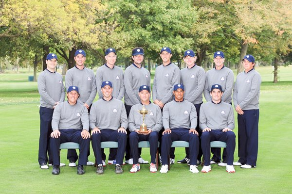 USA Ryder Cup Team Medinah 2012