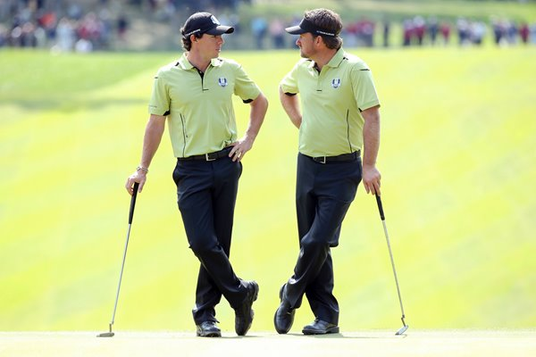 Rory McIlroy and Graeme McDowell Ryder Cup 2012
