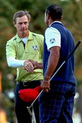 Nicolas Colsaerts beats Woods & Stricker 2012