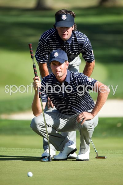 Bubba Watson and Webb Simpson Ryder Cup 2012
