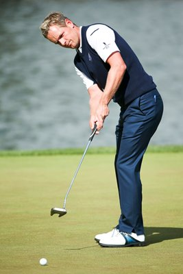 Luke Donald Ryder Cup Singles 2012