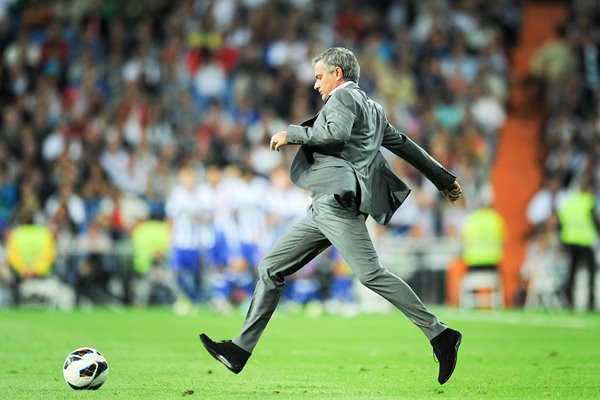 Jose Mourinho on the ball Real Madrid 2012