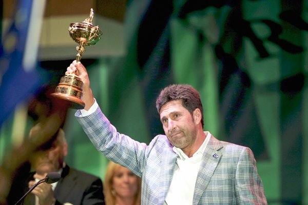 Jose Maria Olazabal 2012 Ryder Cup Winning Captain