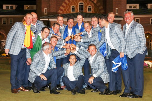 2012 Ryder Cup Winners Europe