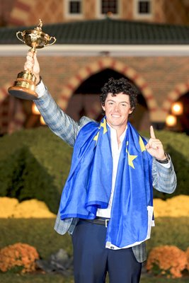 Rory McIlroy World Number 1 and Ryder Cup winner 2012