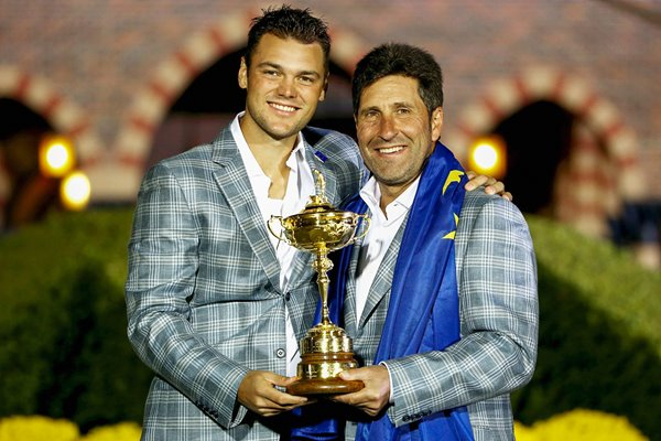 Martin Kaymer and Jose Maria Olazabal Ryder Cup 2012