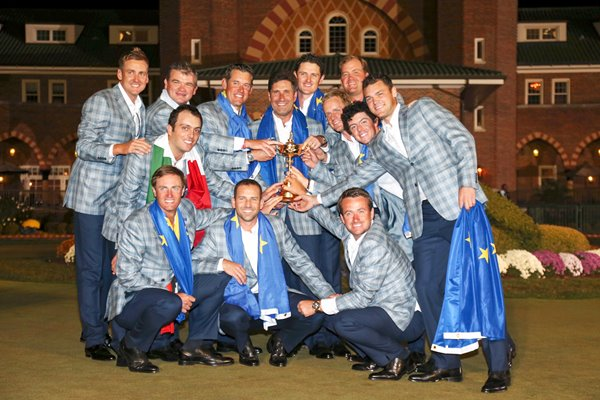 2012 European Ryder Cup Winning Team