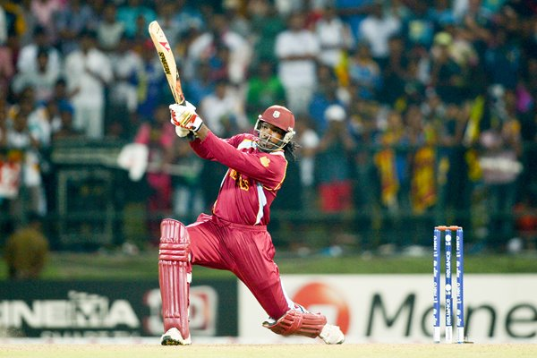 Chris Gayle West Indies World T20 2012