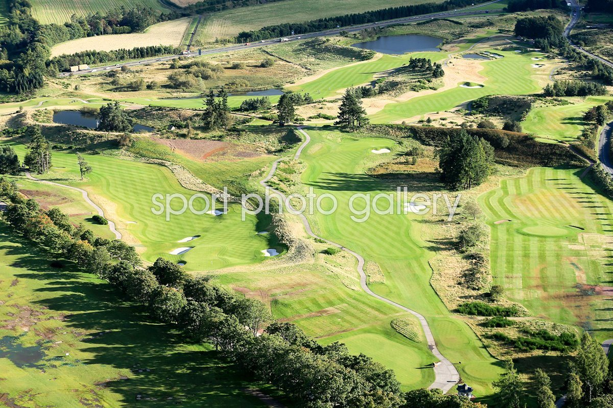 Gleneagles Centenary Course 1st Hole