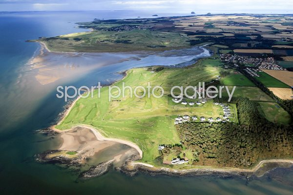 Kilspindie and Craigielaw Golf Clubs, Aberlady, Lothian, Scotland