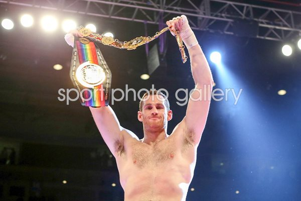 David Price British & Commonwealth Heavyweight Champion 2012