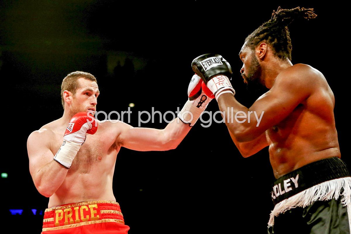 David Price v Audley Harrison 2012