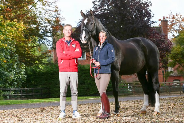Olympic Dressage Gold Medalist Charlotte Dujardin with Valegro