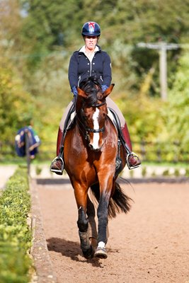 Charlotte Dujardin Dressage Gold Medalist on Valegro