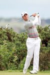 Paul Casey in action at St Andrews 2010 Prints