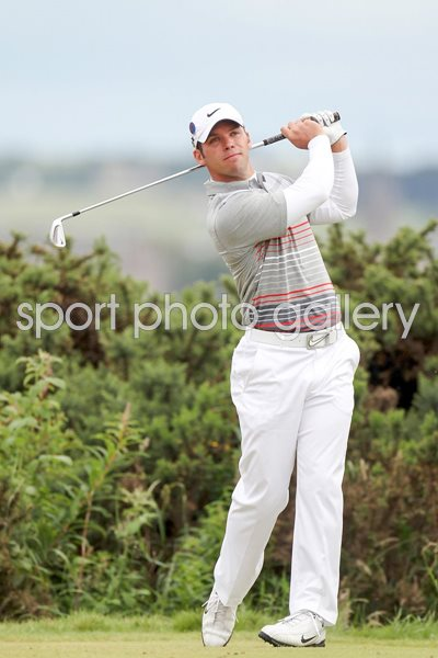 Paul Casey in action at St Andrews 2010