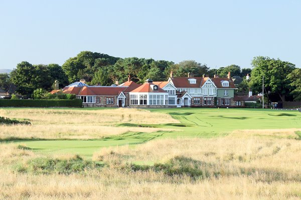 Muirfield Golf Club 18th Hole